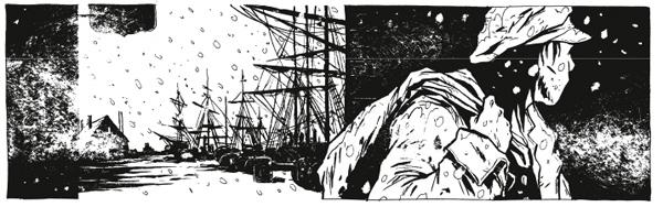 Le Nantucket de Moby Dick par Chabouté