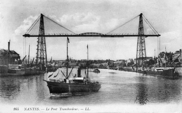 Nantes Le pont transbordeur