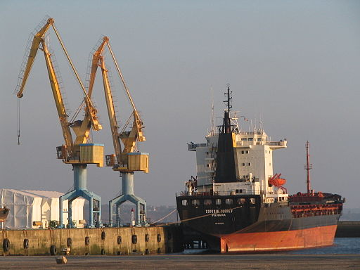 Le Captain Tsarev abandonné à Brest
