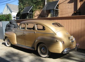 1941 Plymouth fastback sedan