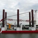 Jack-up vessels : les bateaux ont des jambes