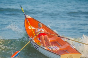 Longport lifeguard race