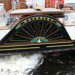 Le Waverley, an original scottish paddleboat !