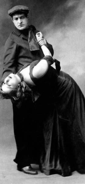 Max Dearly et Mistinguett dansent la valse chaloupée