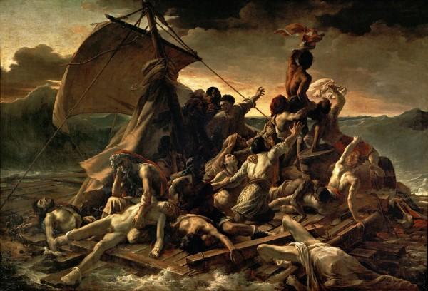 Le radeau de la Méduse - Tableau de Géricault
