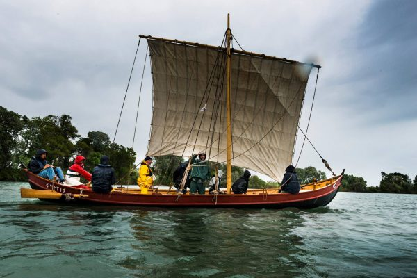 La barque phénicienne Gyptis @Projet Protis